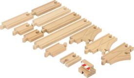 BRIO 33394000 Schienen Starter Pack B, Holz, ab 3 Jahren