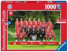 Ravensburger 198962 Puzzle: FC Bayern '17/18 J.H. 1000 Teile