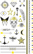 Stickers Tattoo Fluorescent