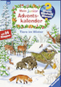 Ravensburger 32952 Mein junior Adventskalender Tiere im Winter
