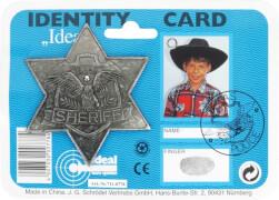 Sheriff Stern Metall antik