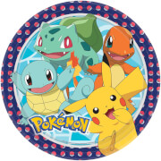 8 Teller Pokemon 23 cm