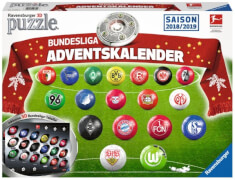 Ravensburger 116799 Puzzleball Adventskalender Bundesliga