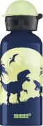SIGG Glow Moon Dinos Trinkflasche, 0,4 Liter